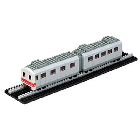 nanoblock - 經典版列車