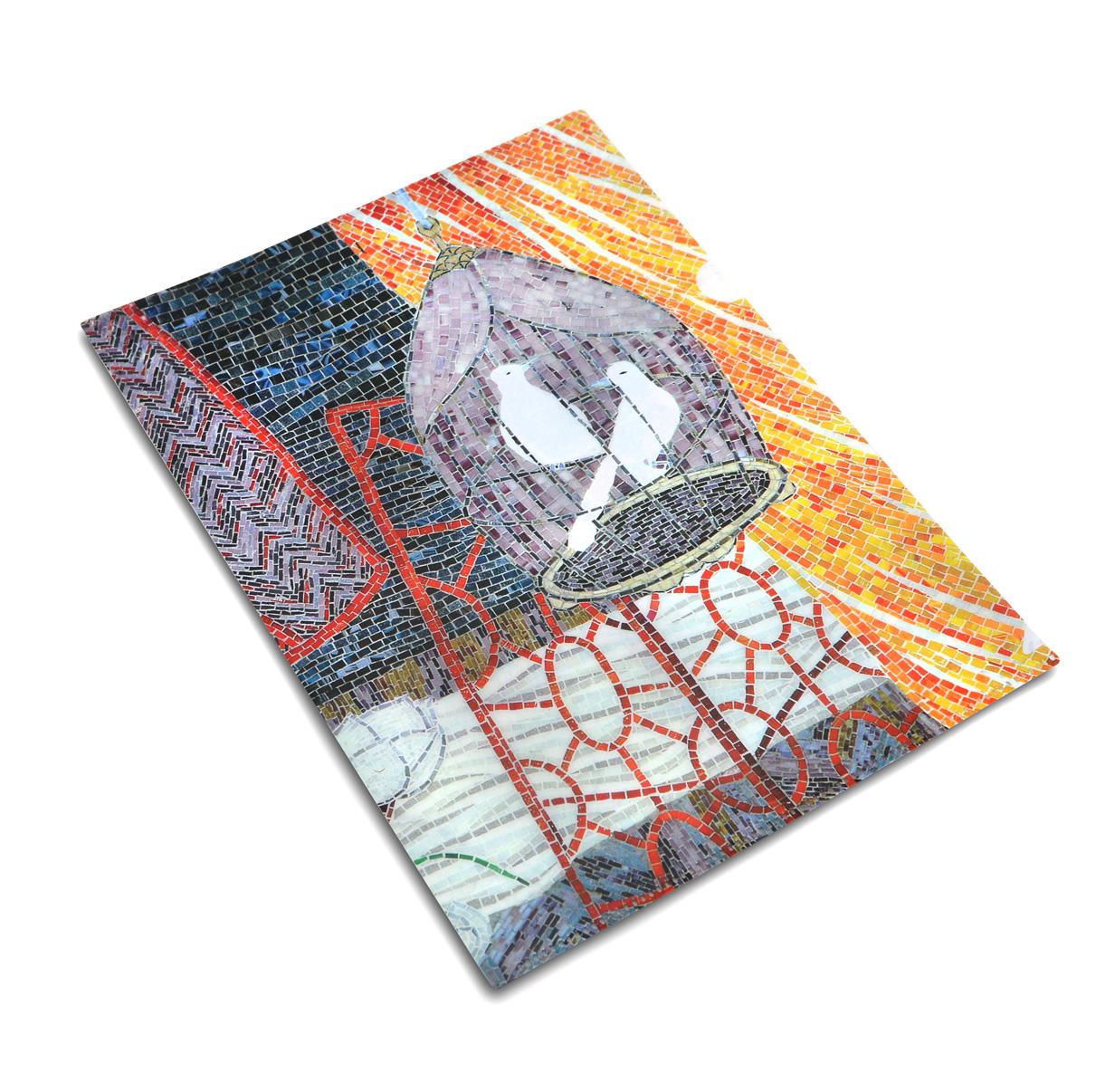 車站藝術品「我的家」- A4 文件夾