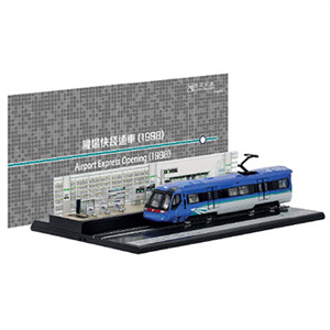MTR Station Diorama Set - Airport Express Opening (1998)