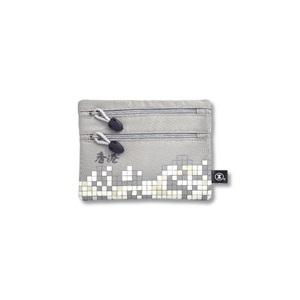 港鐵旅遊精品 <BR>小型雙拉鏈袋-灰色(香港版)