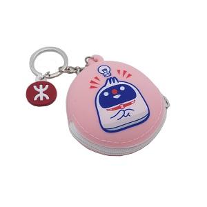 """""""T Chai"""" Mini Coin Purse-Pink"""